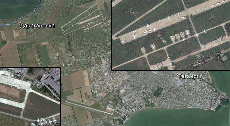 Украинские СМИ: Россия разместила у границ с Украиной сотник штурмовых самолетов и истребителей