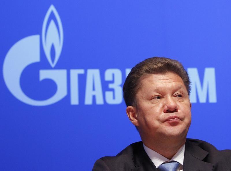 Глава Газпрома Алексей Миллер на ежегодной встрече акционеров компании в Москве
