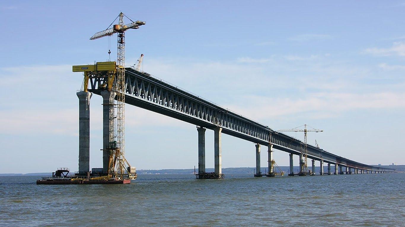 фотохроника строительства керченского моста выставлять соцсети