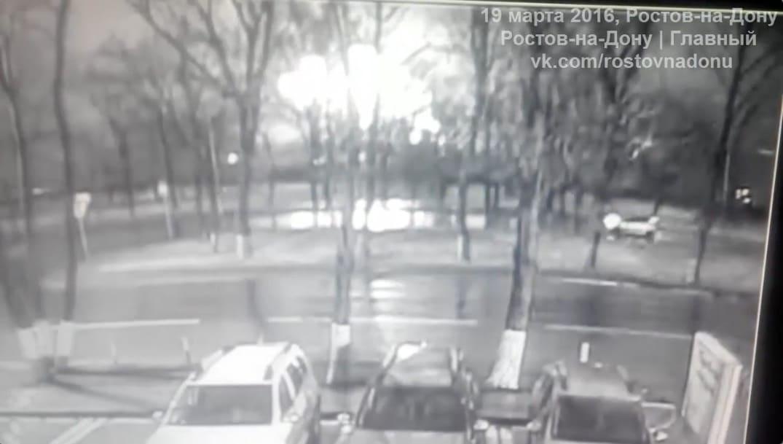 Фото очевидцев падения самолета ростова