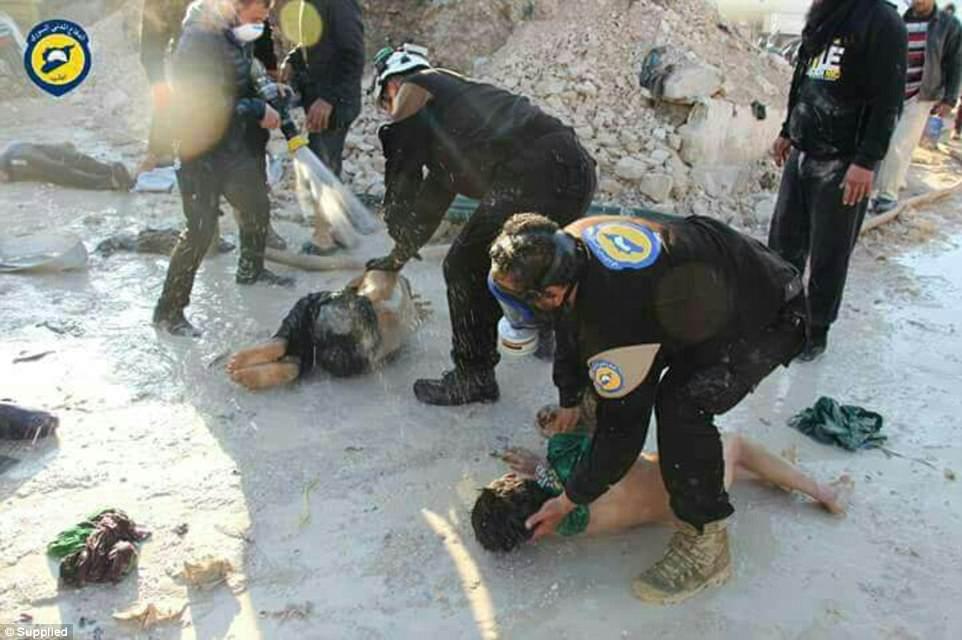 ОЗХО обвинила Сирию внеоднократном применении химоружия