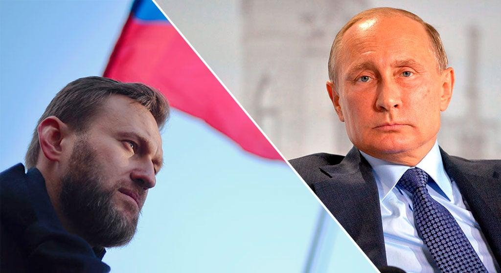 Вот вам и ответ: соответствует ли Путин уровню Навального, или нет |  Новости Украины | InfoResist