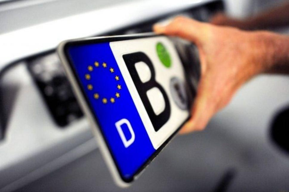 ВГФС отчитались орастаможке первой «евробляхи» поновым правилам