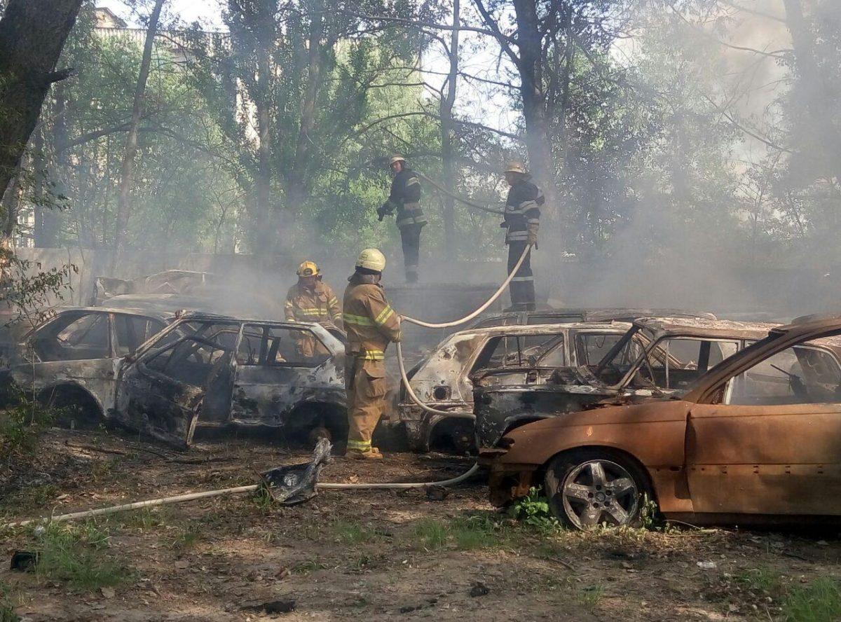 вся причины пожаров в автомобилях с фото предприятия