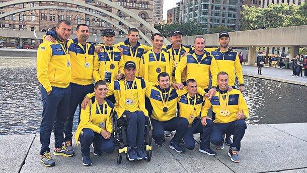 Украина завоевала первую медаль «Игр непокоренных»