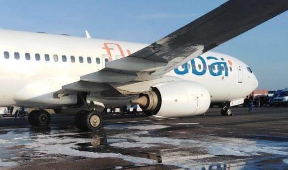 Милиция расследует задымление пассажирского самолета вОдессе