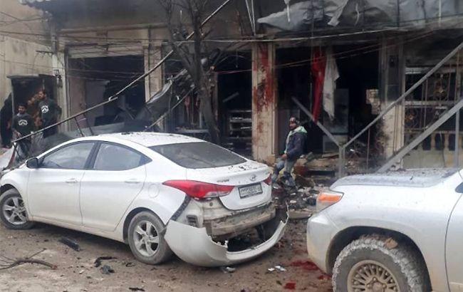 Взрыв вМанбидже: погибли американские военные— Обновлено 17:22