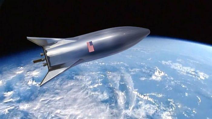 Илон Маск удивил первым реальным фото собственной свежей ракеты