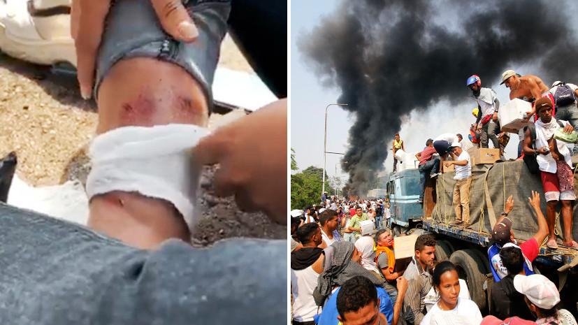 Журналистка проектаRT Redfish была ранена впроцессе  протестов вВенесуэле