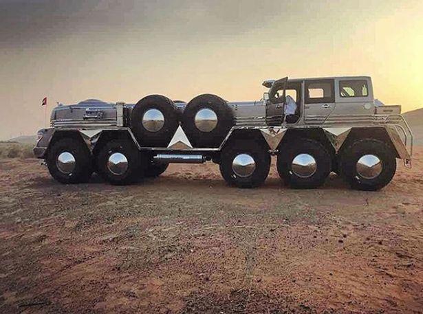 «Сеть подорвал 10-колесный джип арабского шейха «Вгороде R
