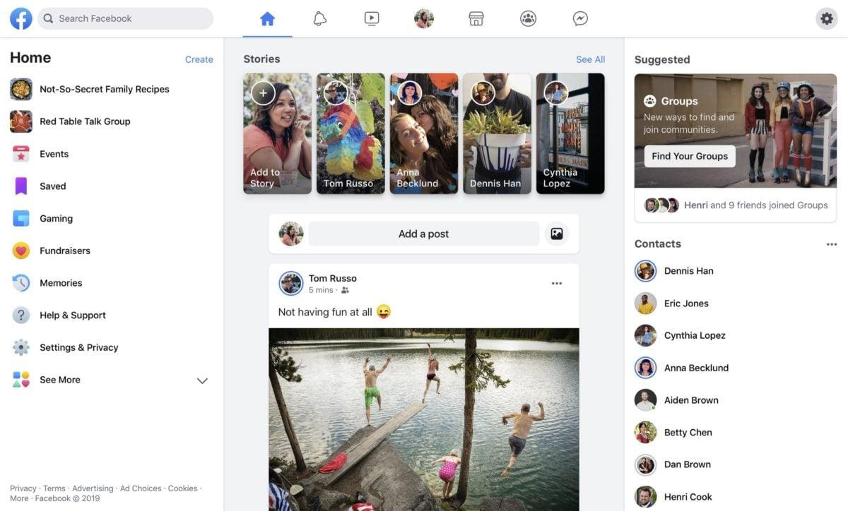 Фейсбук ожидают коренные перемены: Цукерберг продемонстрировал, как поменяется соцсеть