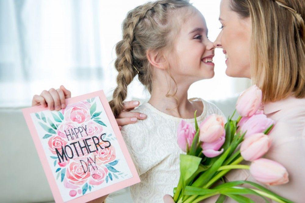 Красивые открытки мама и дочь