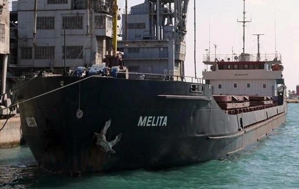 Российское судно штормом занесло в воды Украины