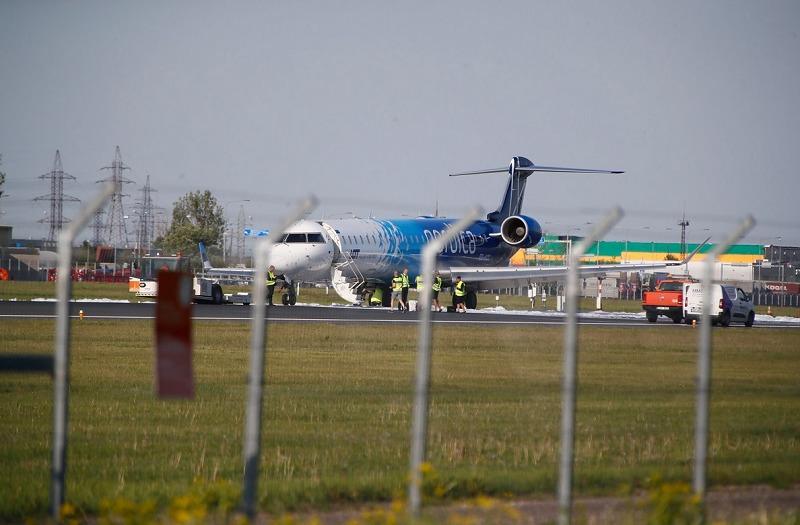 Самолет совершил аварийную посадку вТаллине