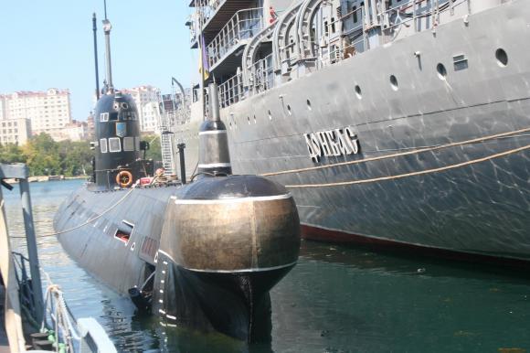 Российская Федерация утилизирует единственную подводную лодку государства Украины
