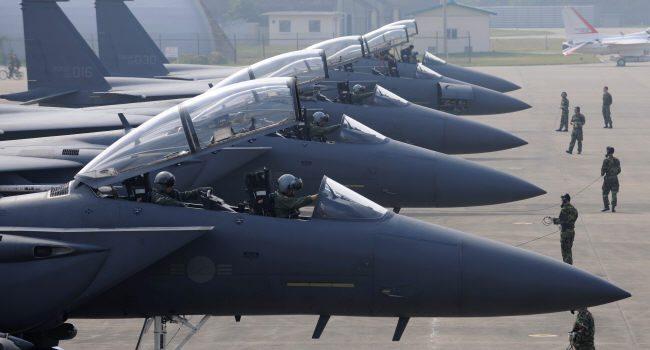 Южная Корея обнародовала видео обстрела иперехвата самолетовРФ