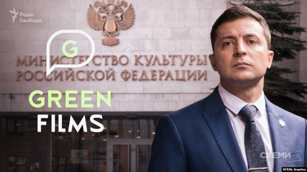 Партнеры Зеленского вернулиРФ деньги зафильм ирасторгли договор