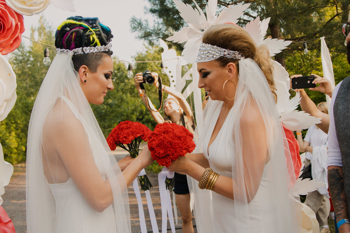 В Украине состоялась первая однополая свадьба | Новости Украины ...