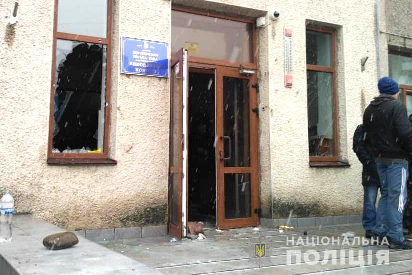 Напад на міськраду Жмеринки: 19 осіб отримали підозри, їм загрожує 7 років в'язниці