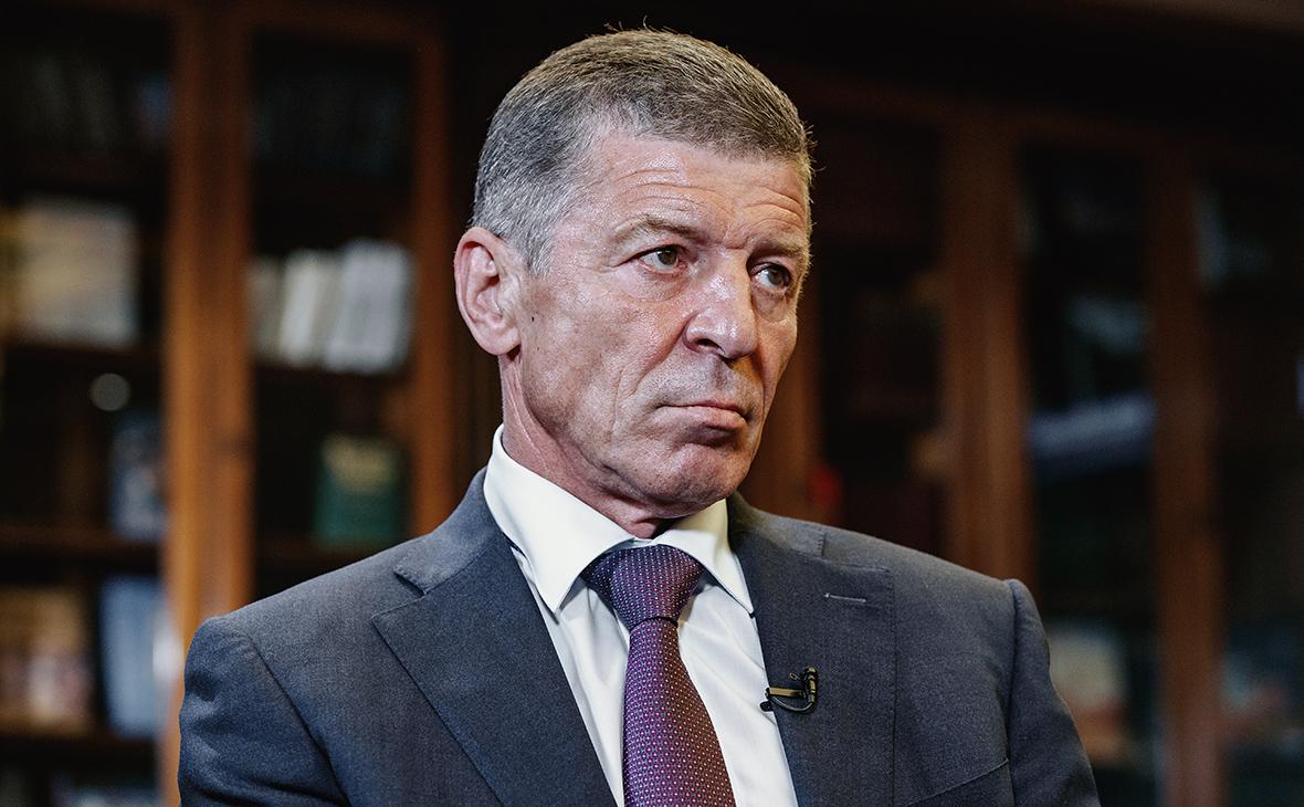 Песков объявил , что Козак в новейшей  должности будет заниматься «украинскими делами»