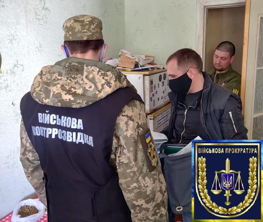 У Десні під час збуту боєприпасів затриманий інструктор школи підготовки снайперів