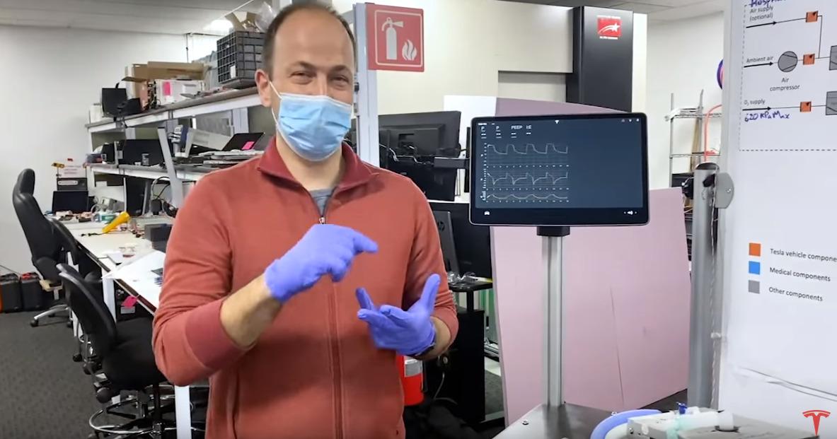14:40 by Info Resist Инженеры Tesla показали прототип своего аппарата ИВЛ InfoResist