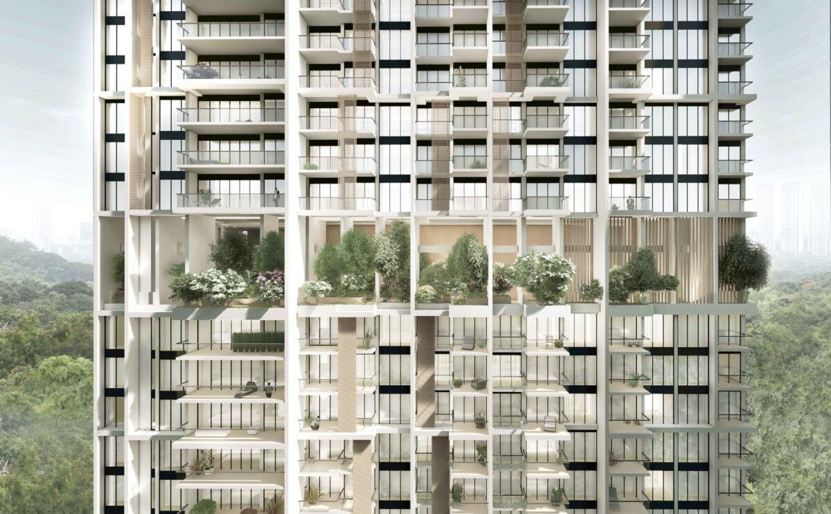 В Сингапуре возведут два самых высоких в мире модульных небоскреба по 56 этажей каждый