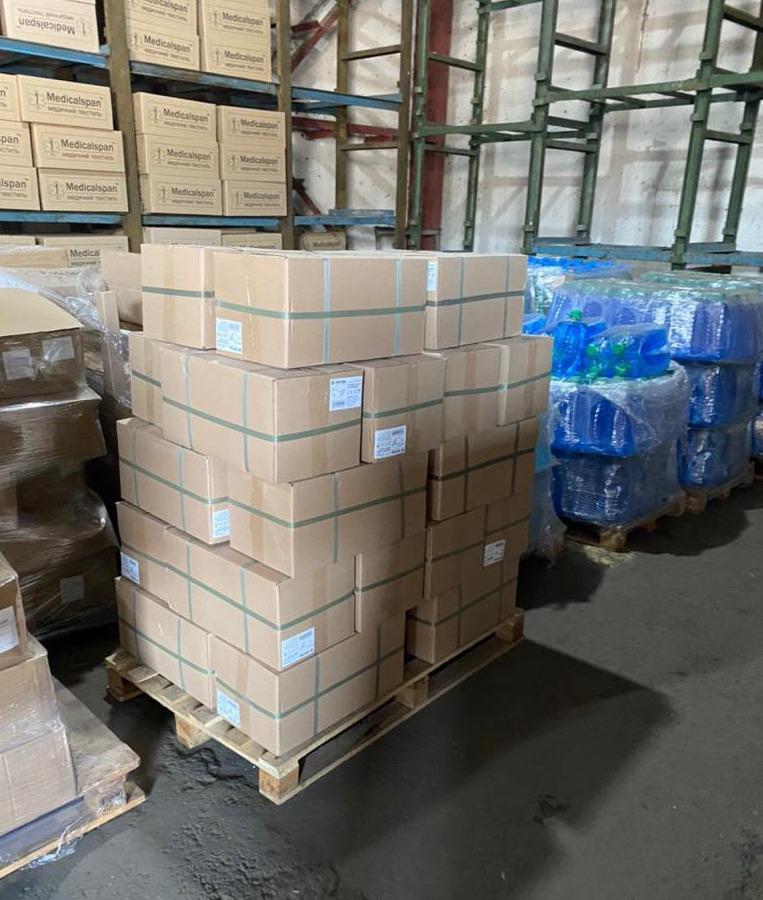 США передали Украине средства индивидуальной защиты от коронавируса