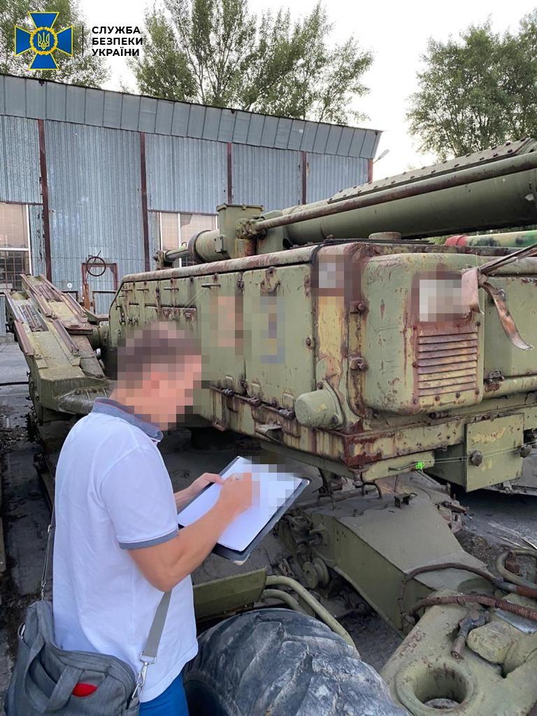 В Украину незаконно ввезли три советских ЗРК С-125
