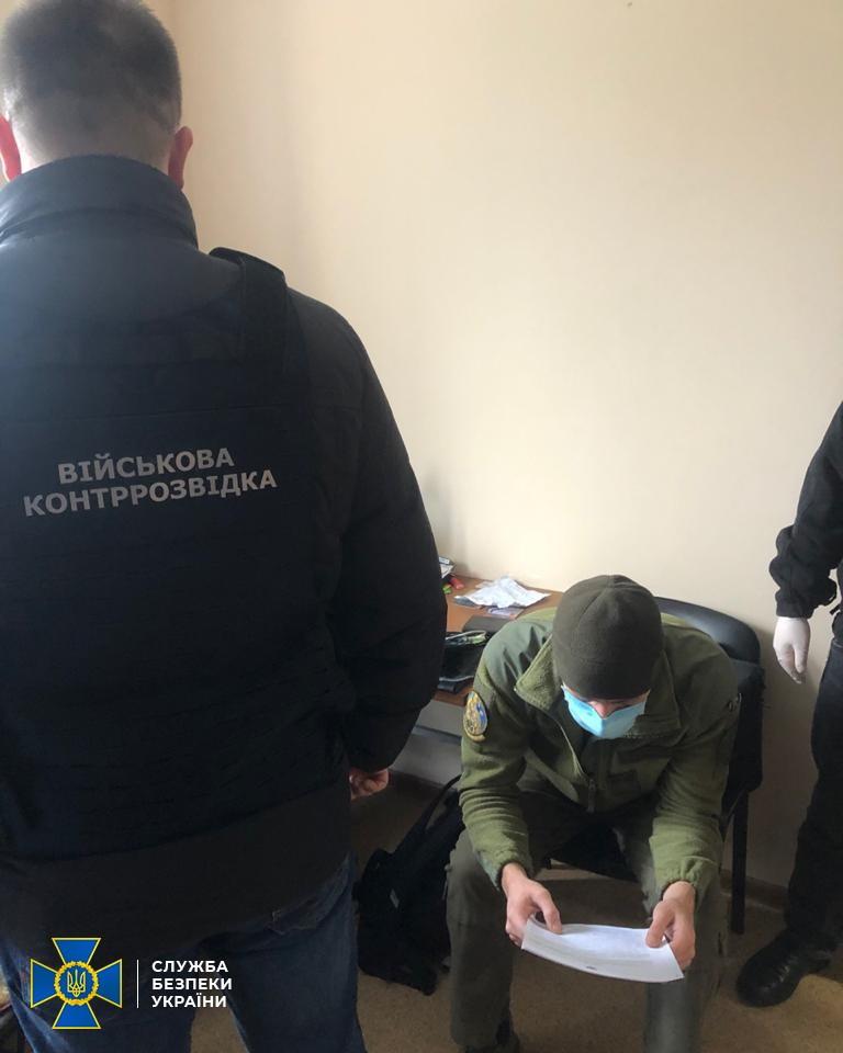 СБУ: Командир подразделения Нацгвардии работал на российские спецслужбы