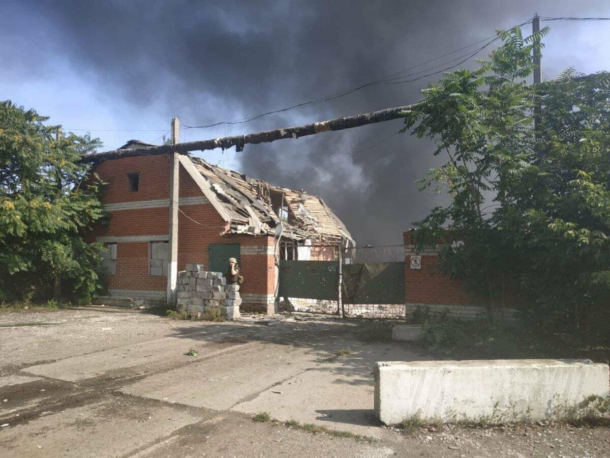 Бутусов: Оккупанты обстреляли Авдеевку из артиллерии впервые с 2017 года. ВСУ запретили отвечать. ВИДЕО 1