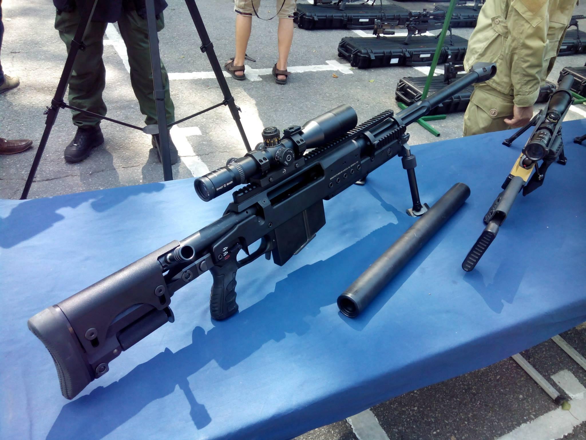 Подразделение получило крупнокалиберные винтовки 12.7 мм завода