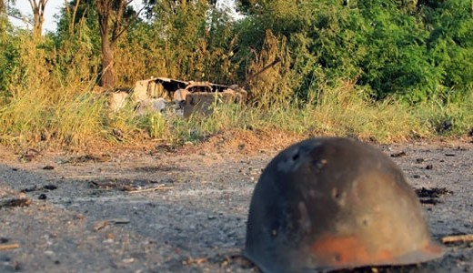 В ночь на 1 августа силами АТО уничтожена колонна бронетехники террористов