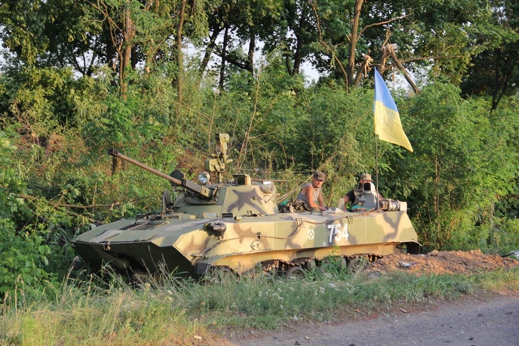 Боевики обстреливают жилые кварталы Луганска из артиллерийских систем, - пресс-центр АТО - Цензор.НЕТ 8689