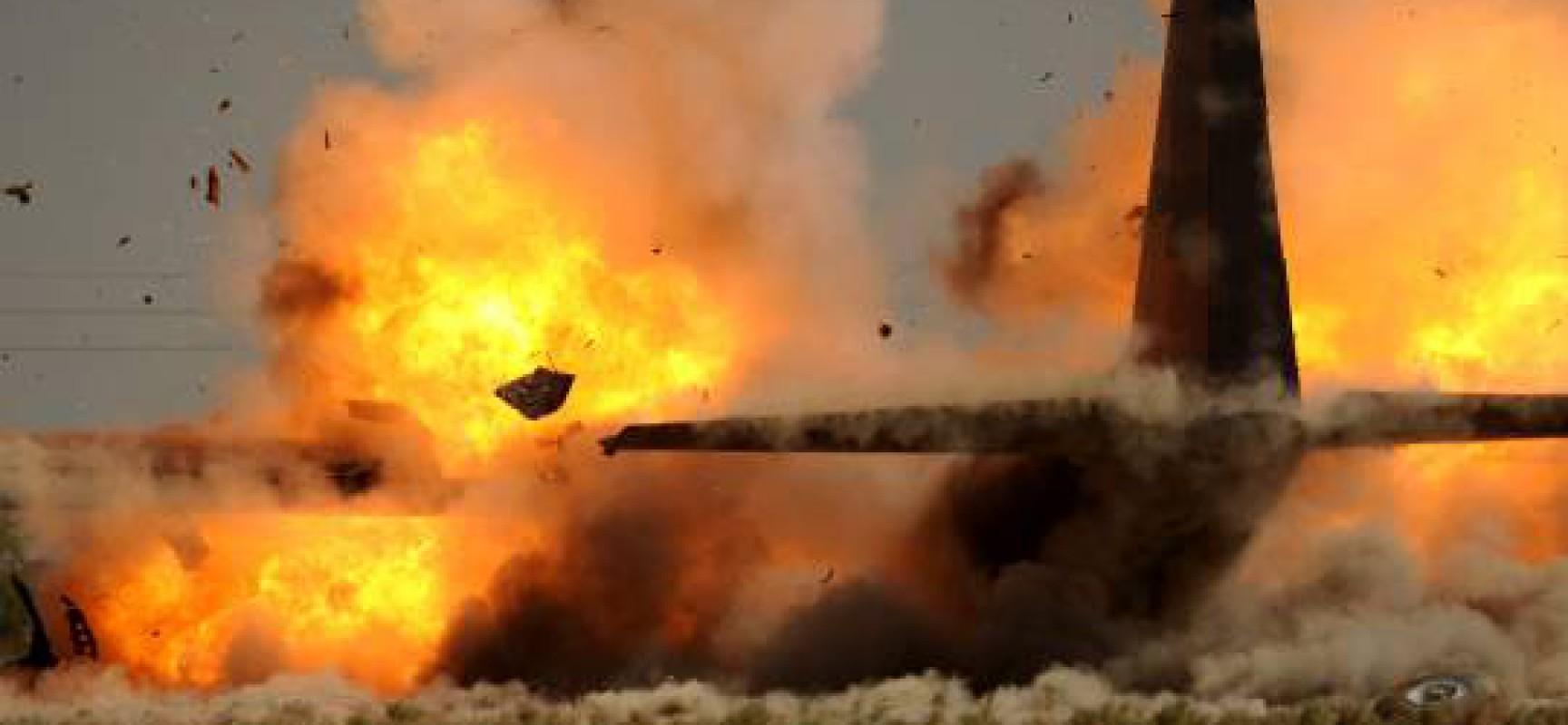В районе Тореза террористами сбит самолёт