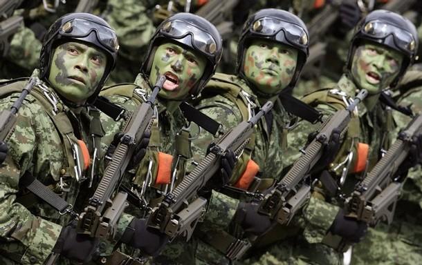 Мексиканская армия разоружила