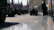 Rehearsal for Victory Day parade in Moscow