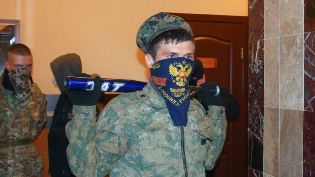 Crisis in Ukraine боевики терры