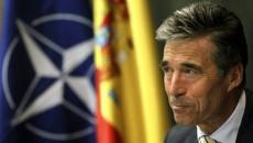 NATO's general secretary Anders Fogh Rasmussen visits Madrid