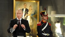 Russian President Vladimir Putin in Argentina