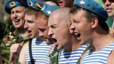 Paratroopers Day Celebration in St. Petersburg