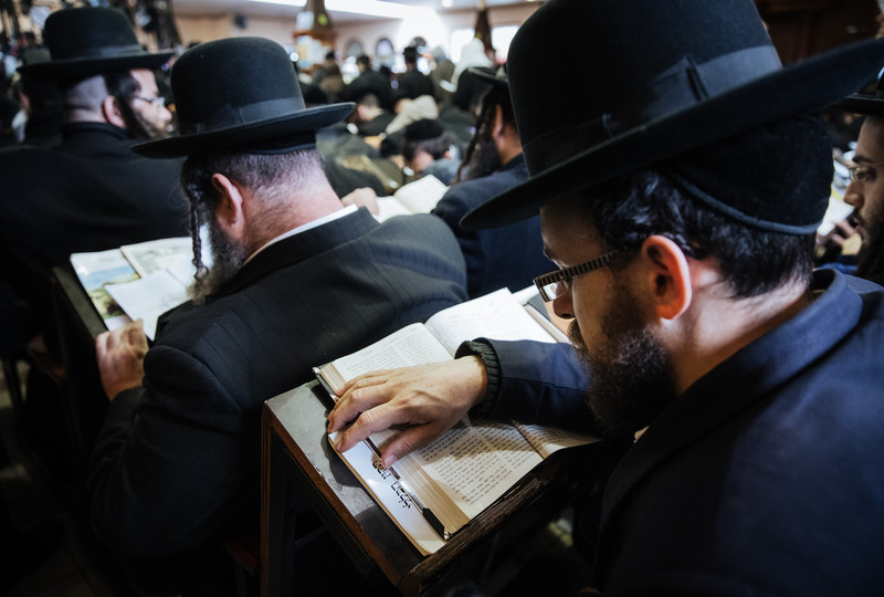 Orthodox Jews mark the Rosh Hashanah in Uman.