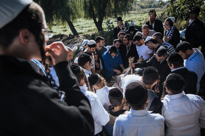 Orthodox Jews mark the Rosh Hashanah in Uman