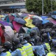 Hong Kong police fires tear gas at pro-democracy protesters