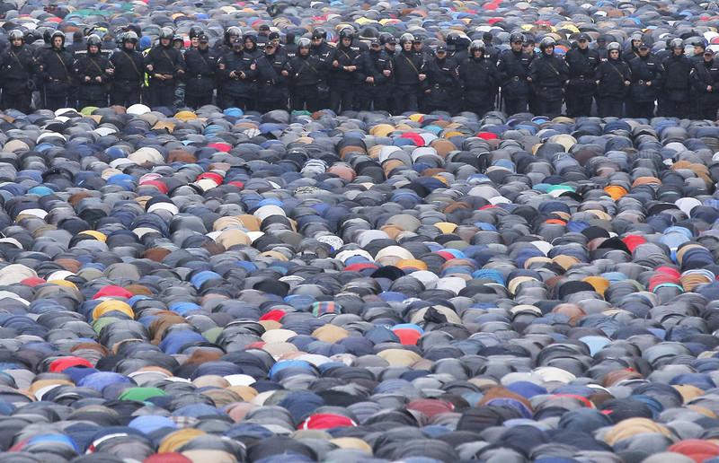 Eid al-Adha in Moscow