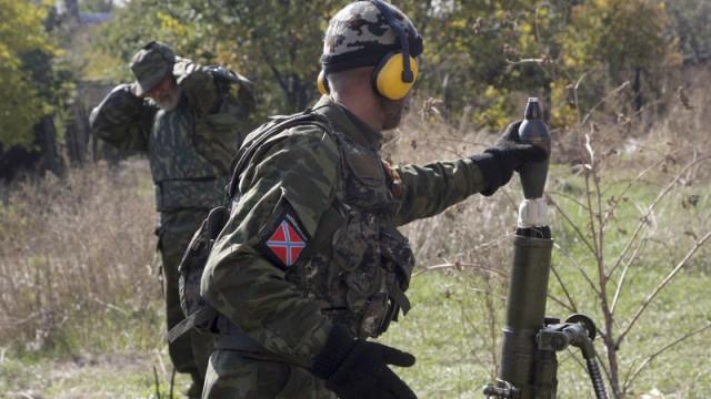 Crisis in Ukraine миномет