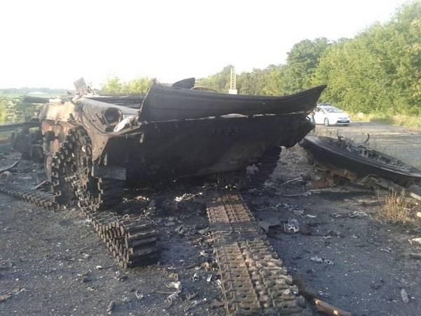 Бойовики з «ЛНР» помилково знищили загін «ДНР» з «заступником міністра закордонних справ «ДНР»